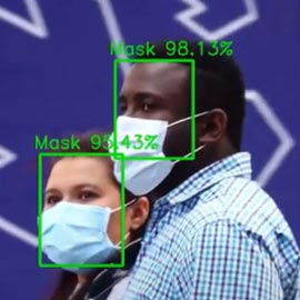 Facial recognition has changed with the use of masks