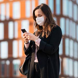 The coronavirus crisis. Facial recognition learns to identify masks