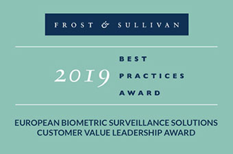 Herta Security receives Frost & Sullivan Europe Award for biometrics excellence