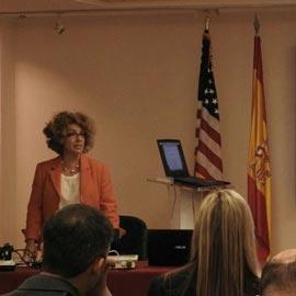 Herta at the Spanish Embassy in USA