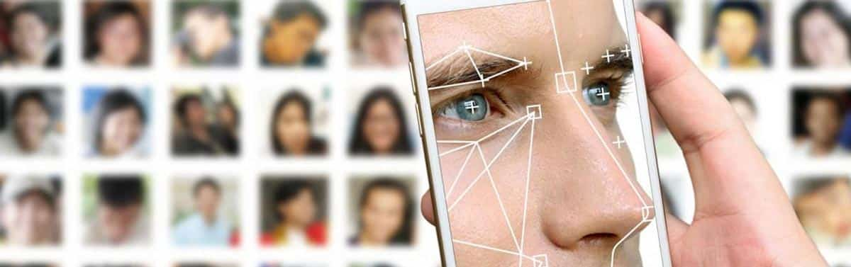 facial scanner to identify the bad guys