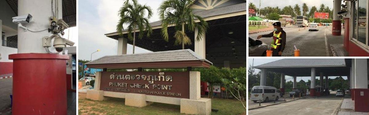 Proyecto Ciudad Segura con reconocimiento facial en Phuket