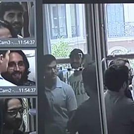 Reconocimiento facial en los informativos de Telemadrid