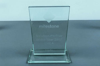 Herta has been awarded as Milestone Solution Partner of the year 2017 at EMEA!